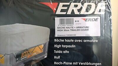 Erde Bh100 30Cm High Trailer Cover