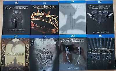 Game of Thrones - Staffel 1 bis 8 Blu-ray - * WIE NEU*