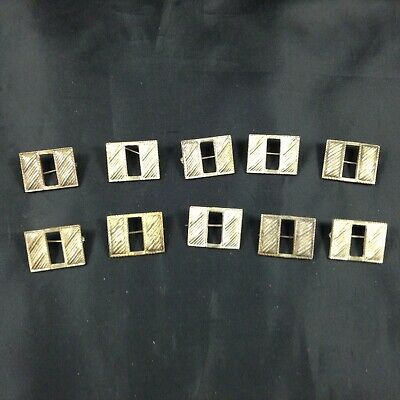 Lot Of 10 Small Ww1 Captain's Bars