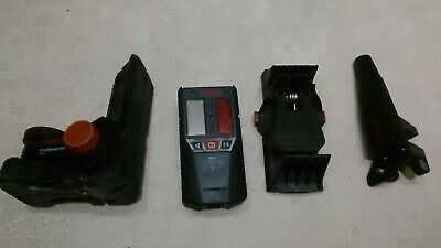 Bosch LR 2 laser receiver/ detector And  brackets.  Used