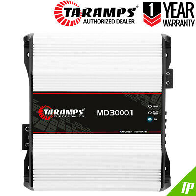 Taramps MD 3000 4 Ohm Amplifier MD3000 HD 3K Taramp's + 2 RCA Y - Consegna...