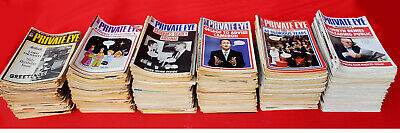 ⭐⭐Massive Private Eye Magazine Collection⭐⭐