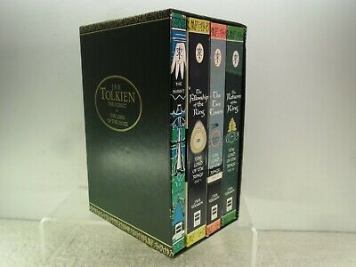 JRR Tolkien The Hobbit & The Lord of the Rings Boxed Book Set Harper Collins