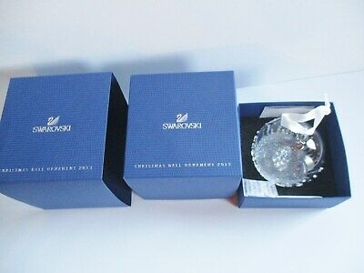 2013 Swarovski Christmas  Ball Ornament  New In Box