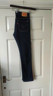Levis 510 Skinny Fit Blue Stretch Jeans Size 16R/W28 L28 *VGC*
