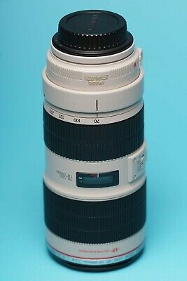 Canon EF 70 mm - 200 mm F/2.8 EF IS II USM for Canon - White MkII