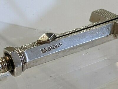 Sampson Mordan silver cross propelling pencil in form of across watch fob
