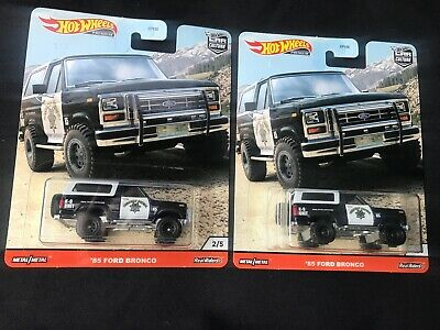 Hot Wheels Premium Car Culture 2020 '85 Ford Bronco Lot Of 2