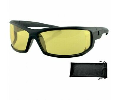 Lunettes Bobster Moto-Scooter-Axl Sunglasses Jaune-2610-0608