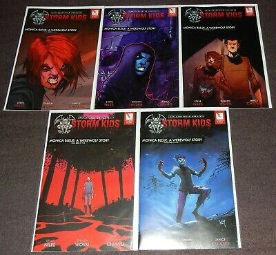 John Carpenter Presents Storm Kids: MONICA BLEUE: A WEREWOLF STORY 5-Issue Set