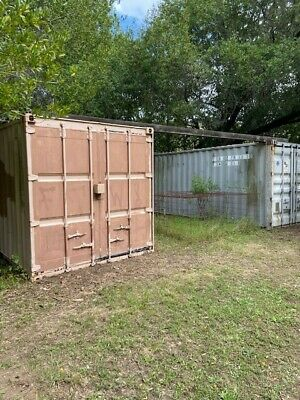 20-Foot Used Shipping/Storage Containers (two containers included)