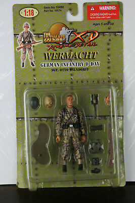 random 5Pcs 21st Century Toys The Ultimate 1:18 German Soldier WWII Military