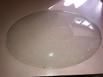 Antique Oval Convex Vintage Replacement Glass Piece for Old Frame