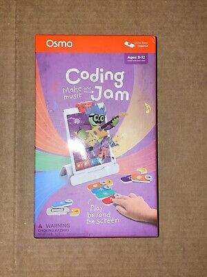 Osmo -Coding Jam Educational Game Logic Problem Solving Kids Learning SystemNew