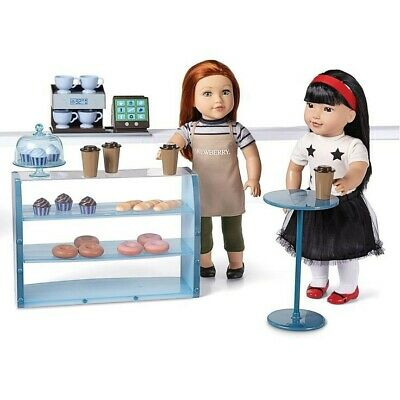 "NEW: Pastry Shop & Accessories for 18"" Fashion Doll like Newberry,American girl."
