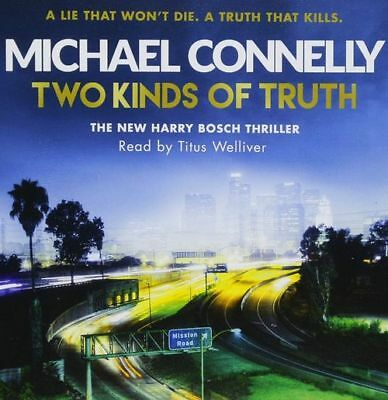 Michael CONNELLY / (Harry Bosch: Book 22) TWO KINDS of TRUTH      [ AUDIOBOOK ]