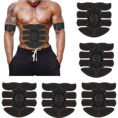 5pcs Estimulador Abs Músculo abdominal EMS ABS Body Toning Fitness