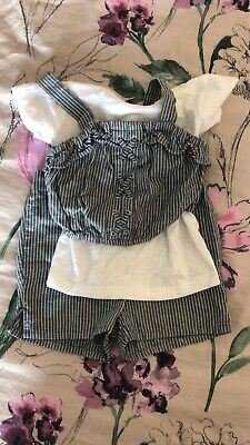 BRAND NEW GIRLS NEXT SHORTS AND TOP SET AGE 4 Years