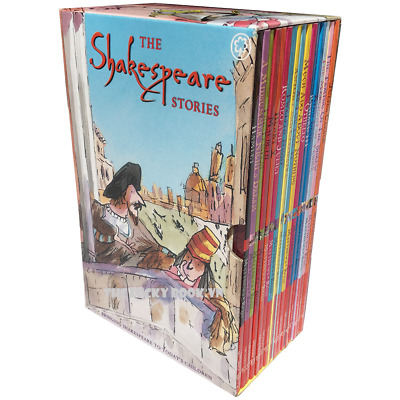 Shakespeare Stories Box Set Collection 16 Books
