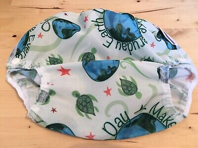 BRAND NEW Motherease Airflow Cloth Reusable Nappy Wrap Earth Day - Large