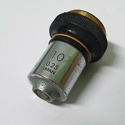 Olympus Tokyo 10 0.25 Japan 250613 Microscope Objective