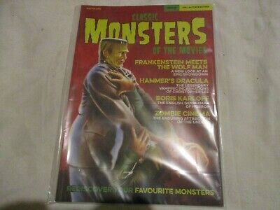 Classic Monsters Of The Movies - Rediscover Your Favorite Monsters Issue #1