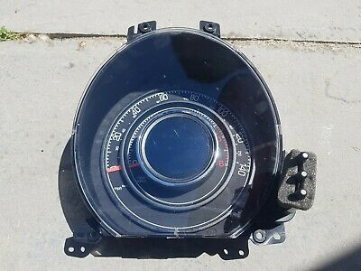 Fiat 500 Instrument Cluster/ Speedo/ Clocks 2008 735471916