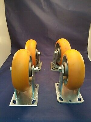 "Set of 6"" CC Apex Industrial Casters"