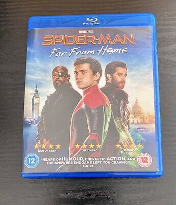 Spider-Man Far From Home - Blu Ray DVD - Like New