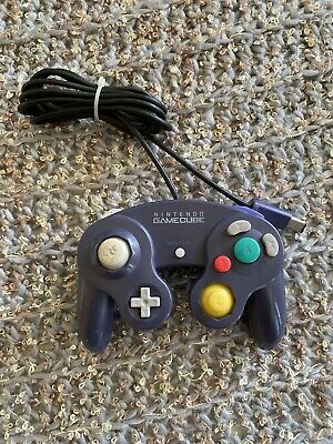 Nintendo Gamecube Controller DOL-003 OEM Genuine Original Purple Indigo