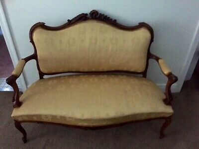 French Antique Louis XVI Sofa Settee Living Room Furniture