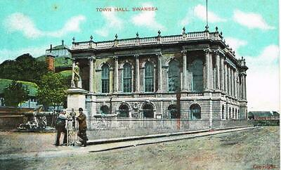 CPA coul. Swansea - town Hall