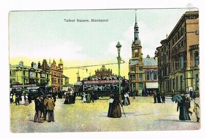 CPA coul. Blackpool, Talbot Square