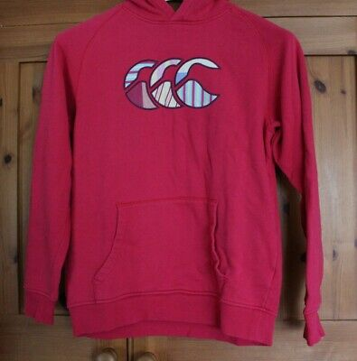 Girls Canterbury Uglies Pink Hoodie - Age 14 Excellent Condition