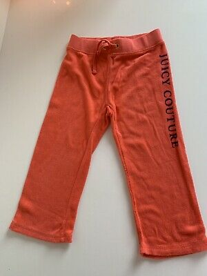 juicy couture girls tracksuit bottoms Age 2