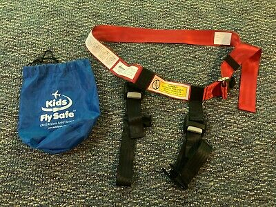 Kids Fly Safe CARES Airline Airplane Toddler Seat Harness Belt