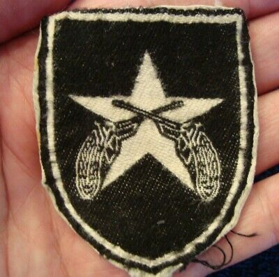 ORIGINAL VIETNAM WAR THEATER MADE MILITARY POLICE PATCH or MP BERET FLASH