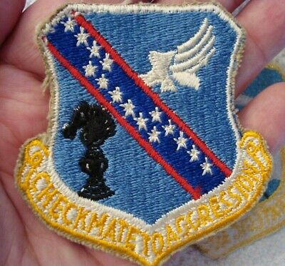 ORIGINAL 465th BOMBARDMENT WING PATCH USED 1964-1968 + VIETNAM WAR ERA SAC PATCH