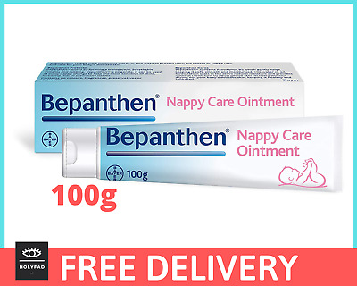 Bepanthen Nappy Rash Care Ointment / Cream for Nappy Rash 100g - NEW