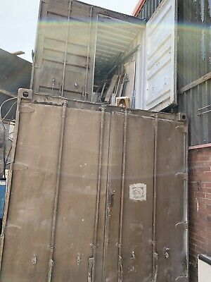 used 3 X 20ft shipping containers