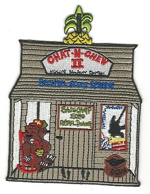 2017 National Jamboree - Chat-N-Chew II Patch