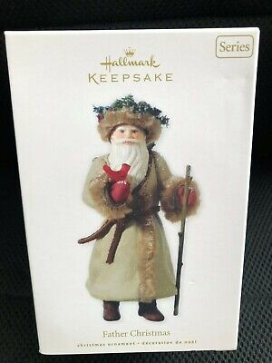 Hallmark 2010 Father Christmas # 7 In Series Ornament