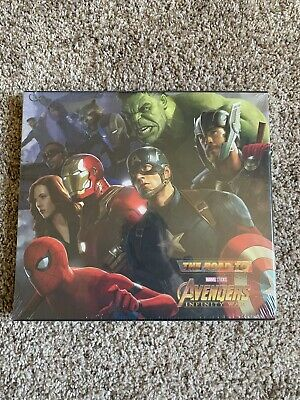 The Art Of Marvel The Road To Avengers Infinity War Book Brand New