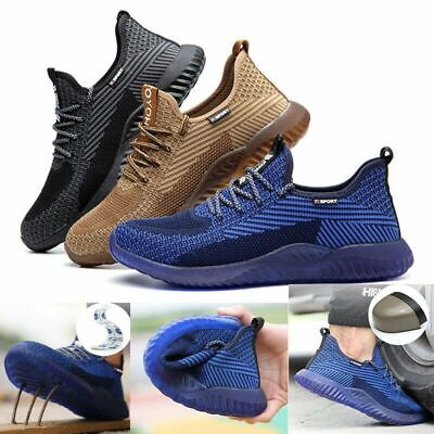 Mens//Womens Steel Toe Cap Work Lightweight Safety Shoes Hiking Trainers Boots