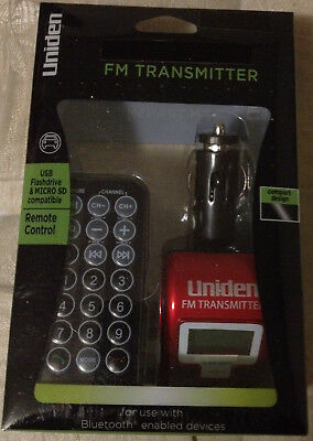 "Uniden FM Transmitter UN1333 ""NEW in Box"""
