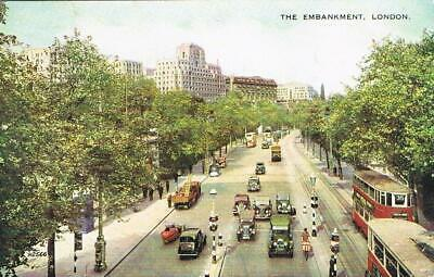 CPA coul. 1952 London - the embankment