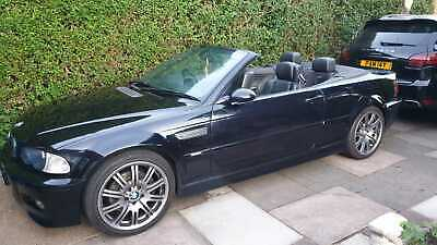 BMW M3 E46 Convertible SMG LPG low miles FSH Lovely Car