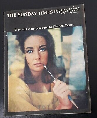 The Sunday Times Magazine: Elizabeth Taylor Richard Avedon January 24th 1966