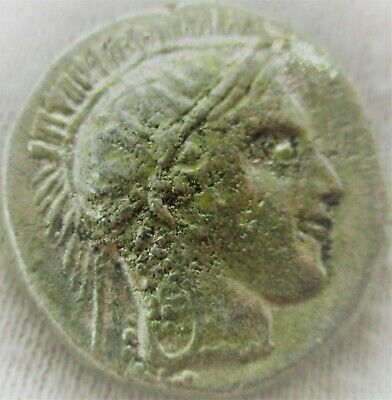 Unresearched Ancient Greek Silver Coin Athena And Owl