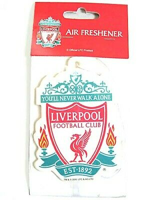 Liverpool Football Club FC Car Air Freshener - Licensed Official Merchandise